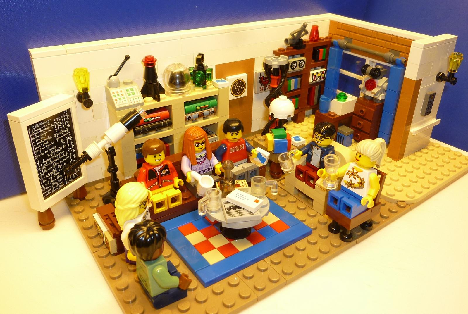 apercu The Big Bang Theory lego