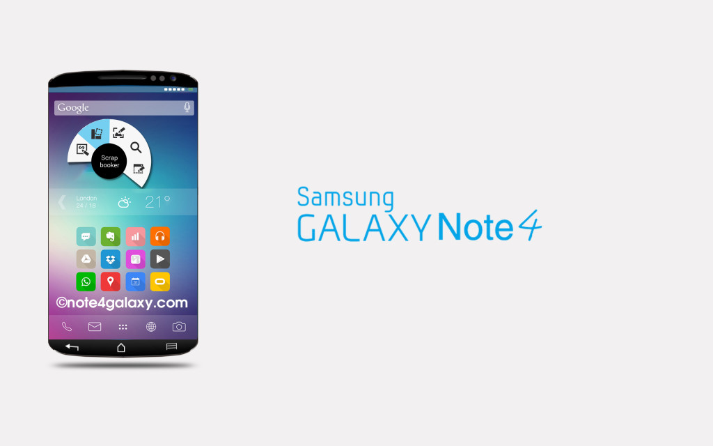 Samsung Galaxy Note 4-visu