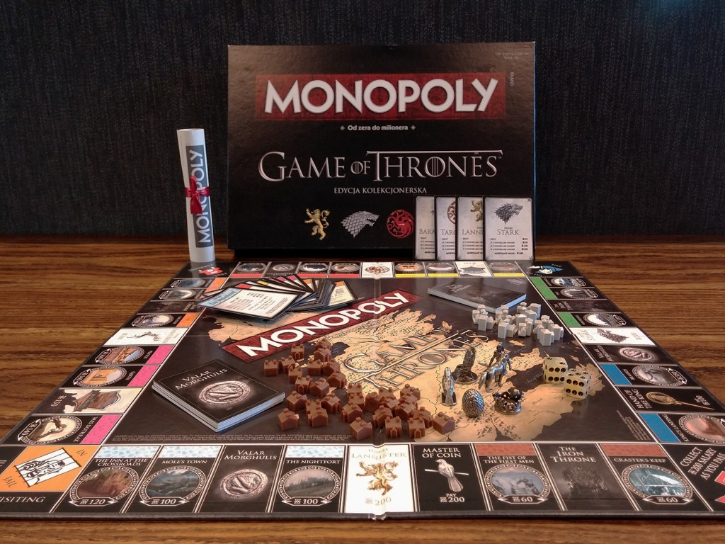 apercu jeu Monopoly Game of Thrones